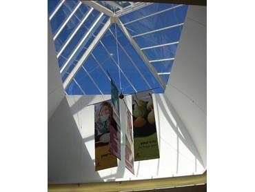 Solar Control Window Film On Skylight And Pyramid Atriums