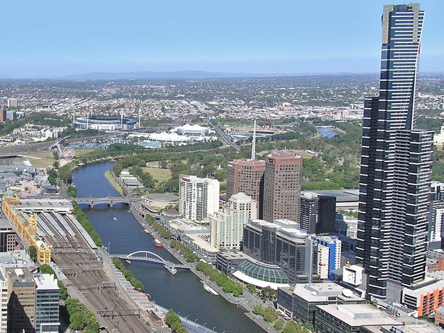 Cities like Melbourne are a store for such huge amounts of resources that they could be used as urban mines. Image: Wikimedia