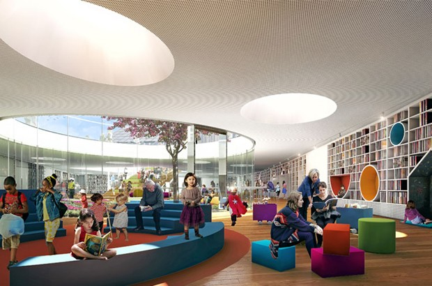 Underground Library At Green Square Takes Shape Gives
