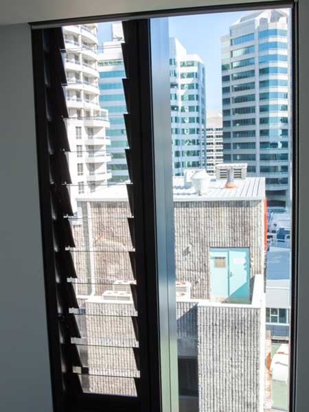 Breezway Altair louvre windows maximise ventilation and views for each apartment