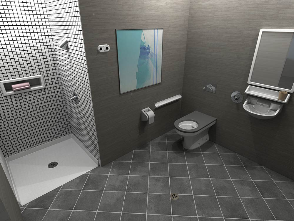 Galvin Behavioural Room mental health bathroom
