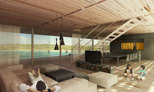 Shipping Container Vacation Home Wins Bondi Beach