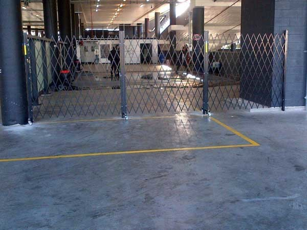 ATDC's retractable security barriers were identified as an effective solution for the Star Carwash wash bays