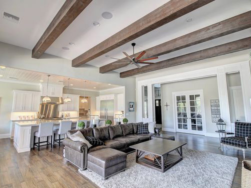 Exposed Beam Ceiling 7 Homes Featuring Stunning Exposed Ceilings Architecture Design