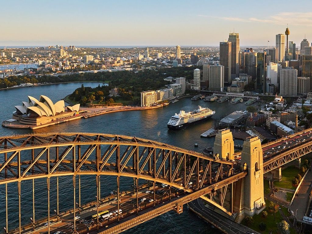 Sydney is once again the second most unaffordable city in the world for housing. Image: Azamara Club Cruises