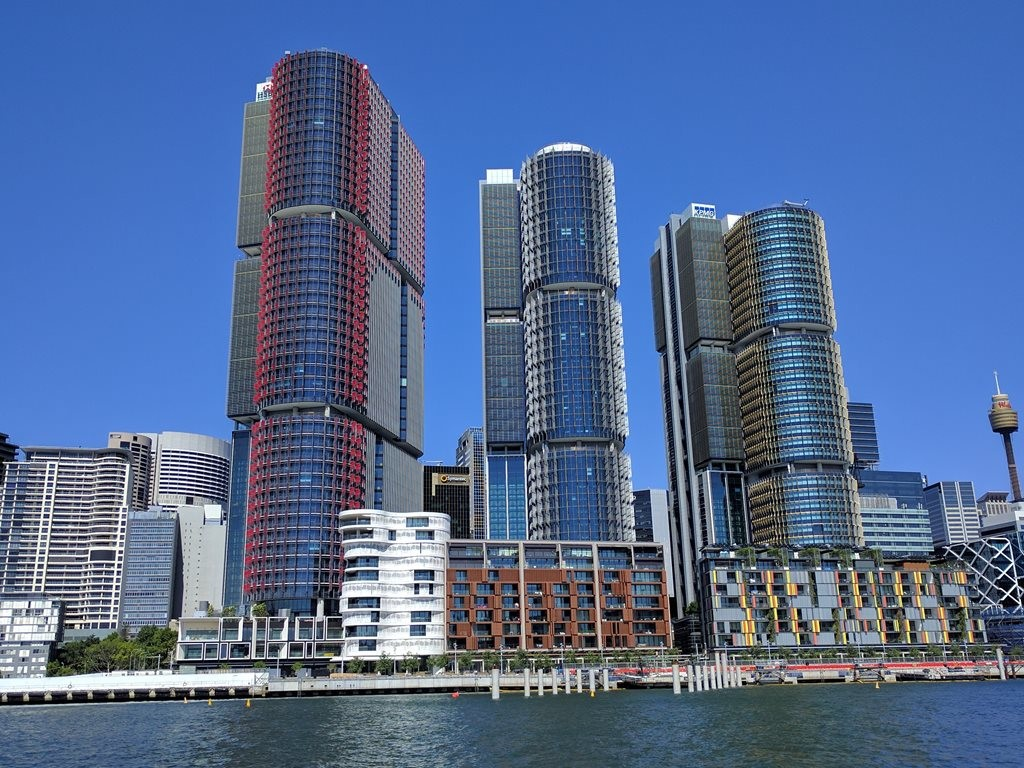 International Towers at Barangaroo will soon be home to the Green Building Council of Australia (GBCA). Image: Wikipedia