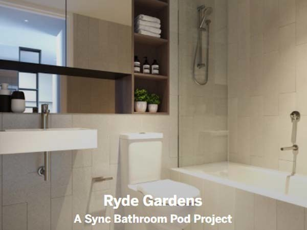 Bathroom pod by Sync