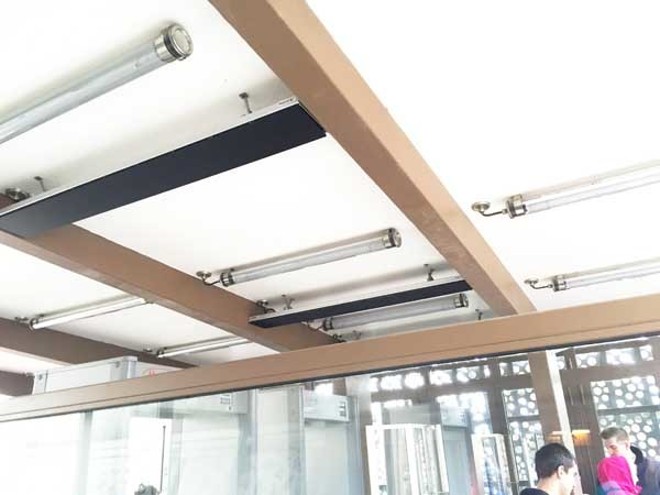Thermofilm's HEATSTRIP Classic radiant heating panels