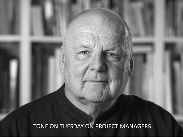 Tone on Tuesday: On Project Managers