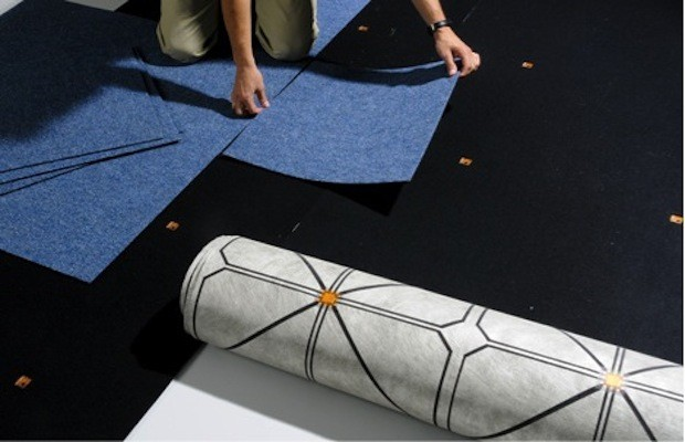 Touch Sensitive Flooring By Future Shape Can Tell If A