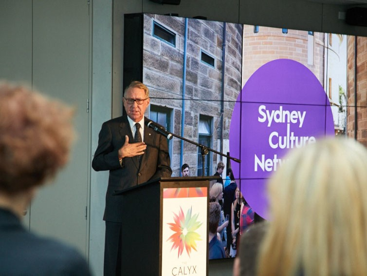 """Sydney Culture Network is about creating conditions for a new collaborative ecology that will foster even greater creativity and drive innovation. We want to elevate the value of culture, and to enhance the role of Sydney as an international hub of creativity and ideas,"" says UNSW chancellor David Gonski. Image: Supplied"