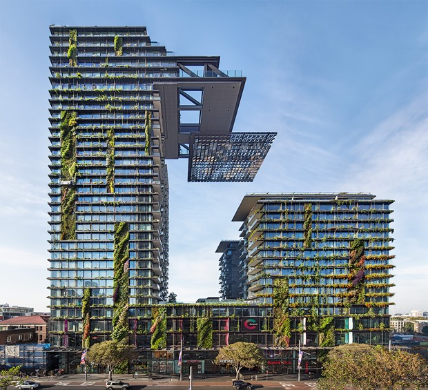 ... Surface Of Buildings And Their Surrounding Micro Climates, Was  Eventually Named The Winner Of The 2014 Innovation Award, Beating Patrick  Blancu0027s Living ...
