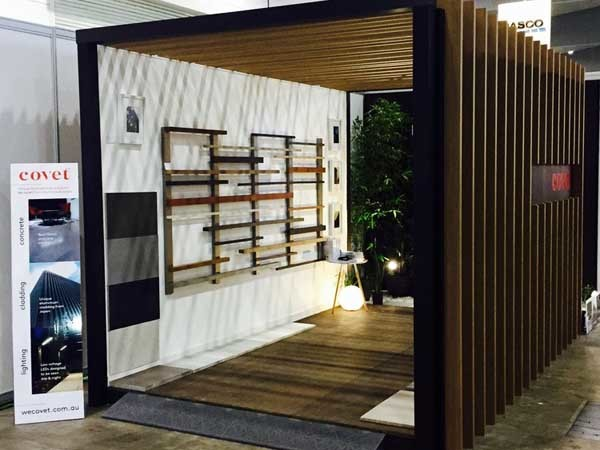 Covet's bespoke stand at DesignBuild Expo 2016