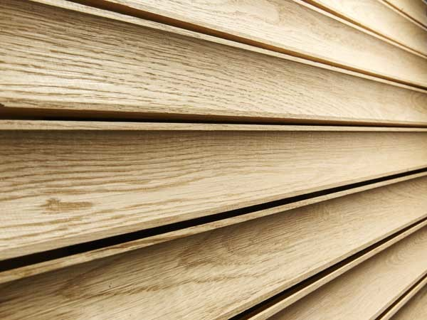 Timber Battens Take New Shapes Beyond Traditional Square