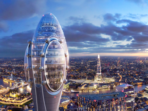 Foster Partners Tulip Rejected In London