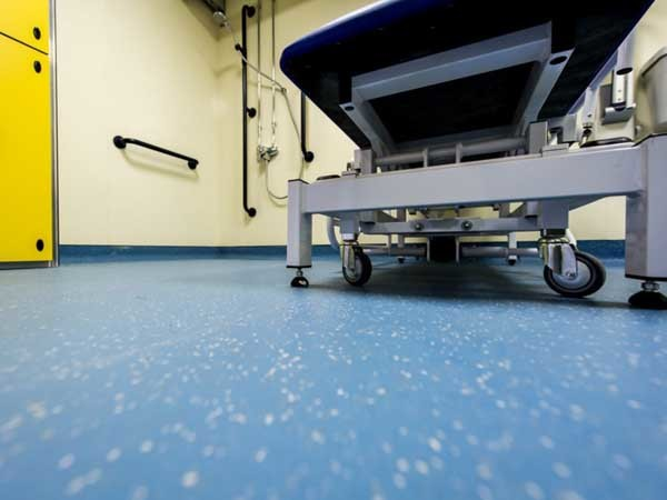 Altro Aquarius and Altro Whiterock Satins used at Auchmuty High School
