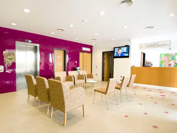 Altro floors and walls at the National Breast Screening Service clinic in Cork, Ireland