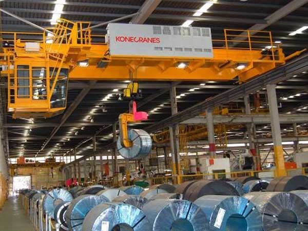 Konecranes is a leading player in the steel industry, providing technology and expertise to improve safety, reliability, efficiency and uptime