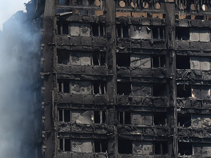 The senate inquiry heard also there are thousands of buildings across NSW and Victoria that also contain potentially defective cladding, like what was used in the ill-fated Grenfell Tower in London. Image: The Conversation