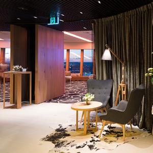 Highest event space in southern hemisphere made to resemble New York loft by Allen Jack + Cottier