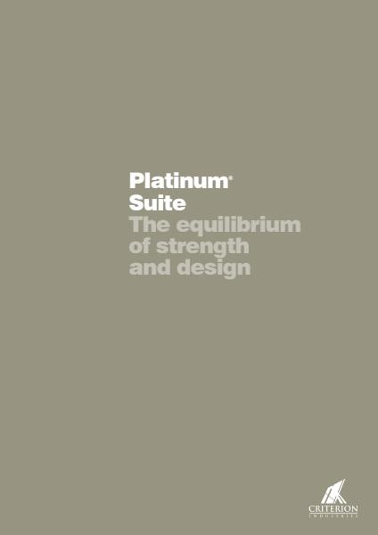 Platinum Suite Brochure