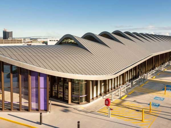 Robina Town Centre featuring ZC Technical's roof