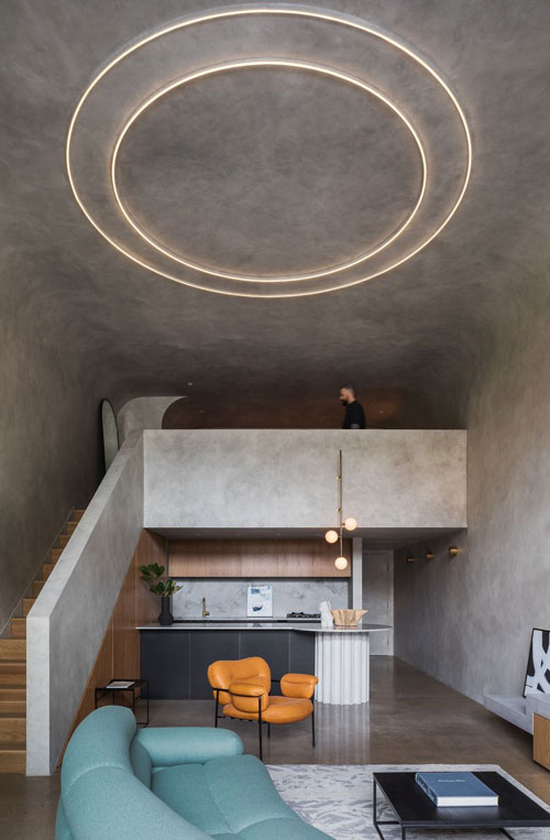 concrete bunker apartment