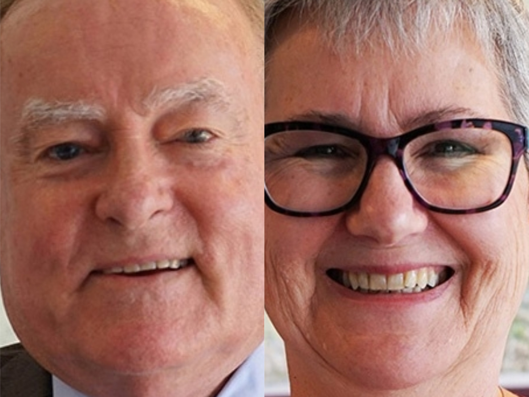 The NSW minister for Planning and Housing, Anthony Roberts has appointed two new Regional Commissioners, Miriam Dayhew (right) and Frank Holles (left). Image: Supplied