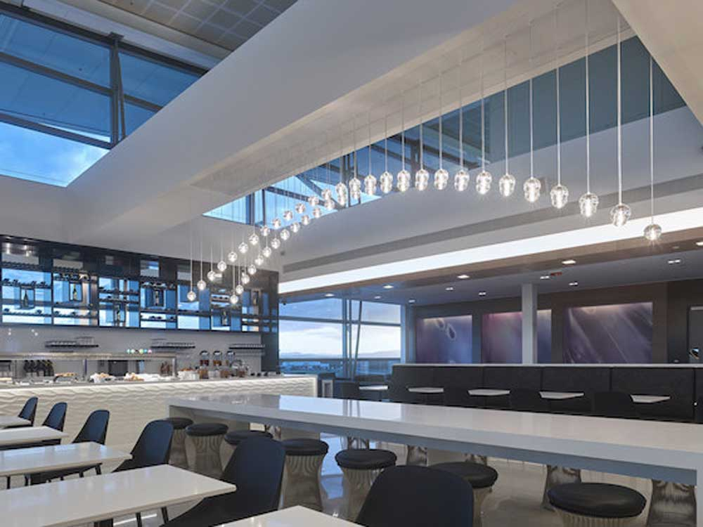 Brisbane International Airport - Air New Zealand lounge