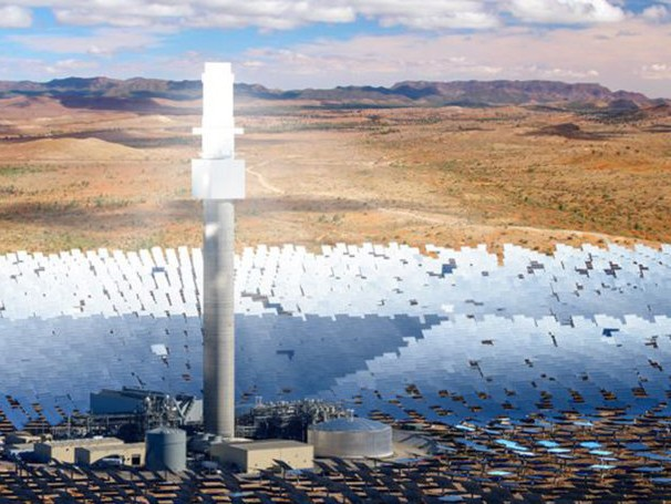 SolarReserve's 150MW solar thermal power plant has been granted development approval by the South Australian Government, paving the way for construction to begin this year. Image: Supplied