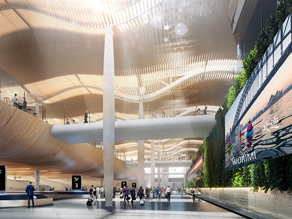 Western Sydney University's architecture students showcase stunning new airport designs