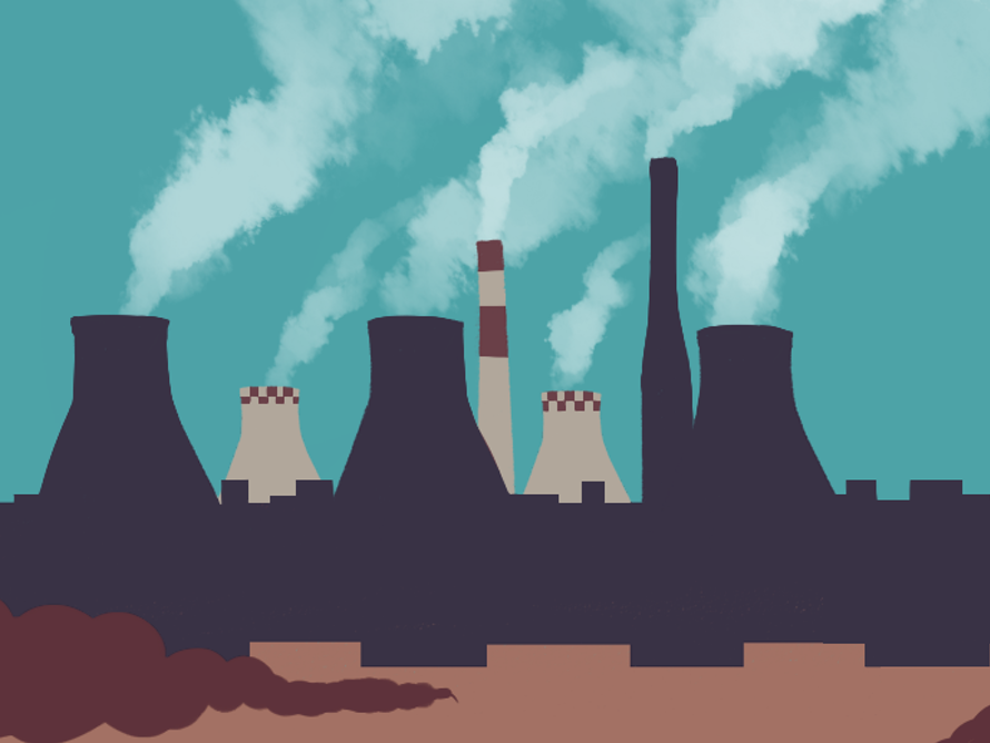 The new climate policy review proposes loosening the rules on Australia's biggest-emitting companies, such as power generators. Image: Marcella Cheng