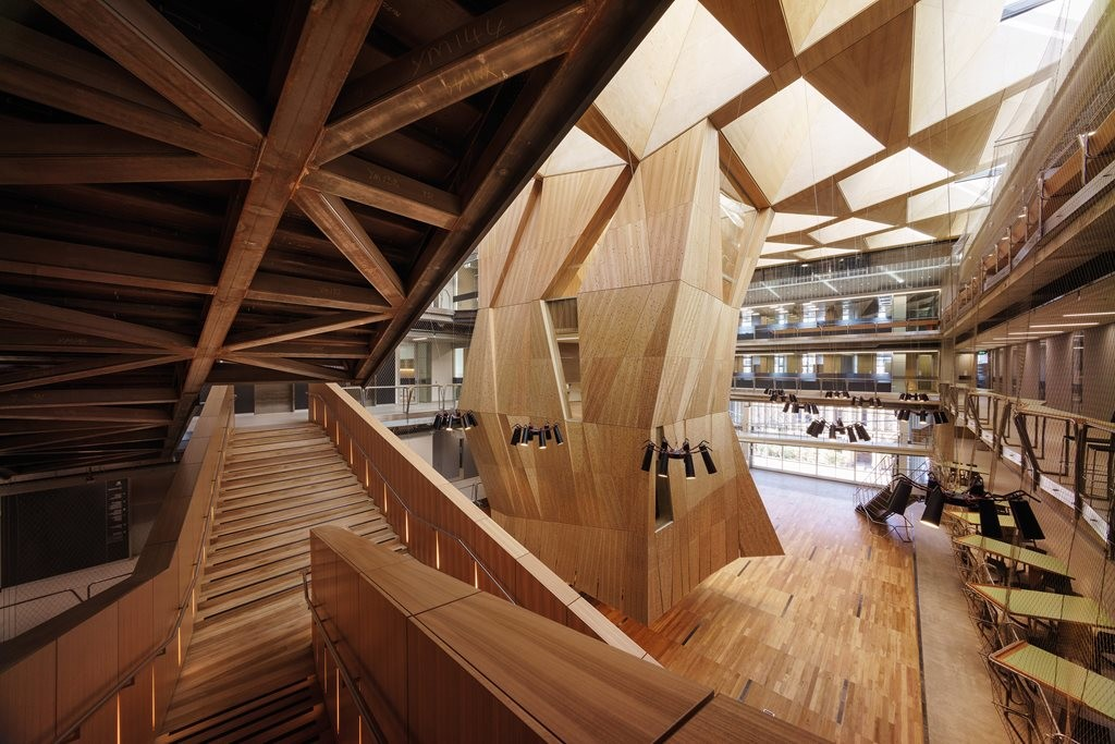 Melbourne School Of Design By John Wardle Architects And