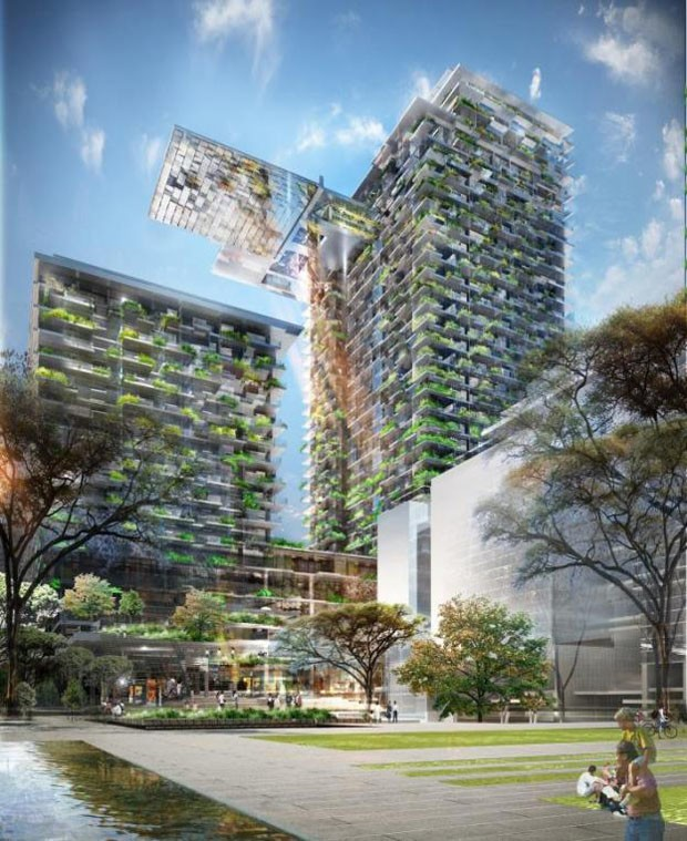 5 Green Star Development One Central Park Welcomes First