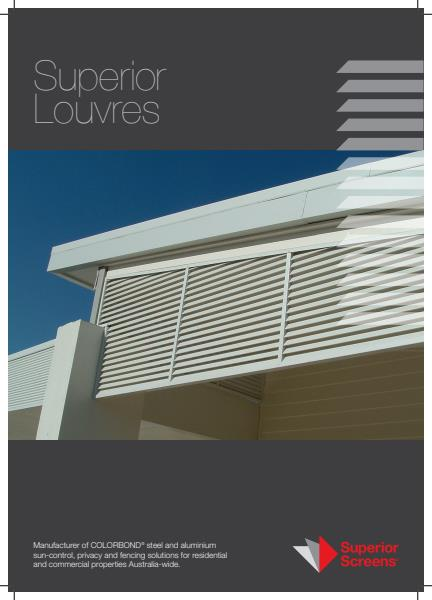Superior Lourves Brochure