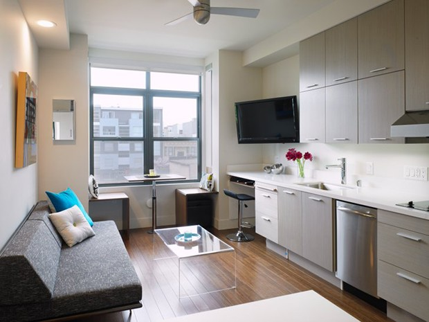 Life in small rooms 5 micro apartments and how they fit - Two bedroom apartments san francisco ...