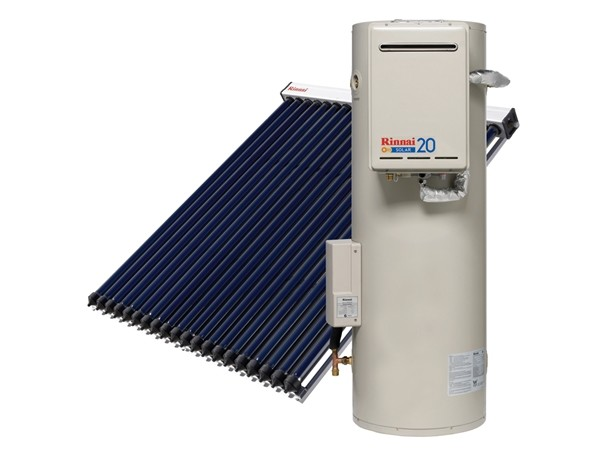 Evacuated Tube Solar Hot Water Systems From Rinnai