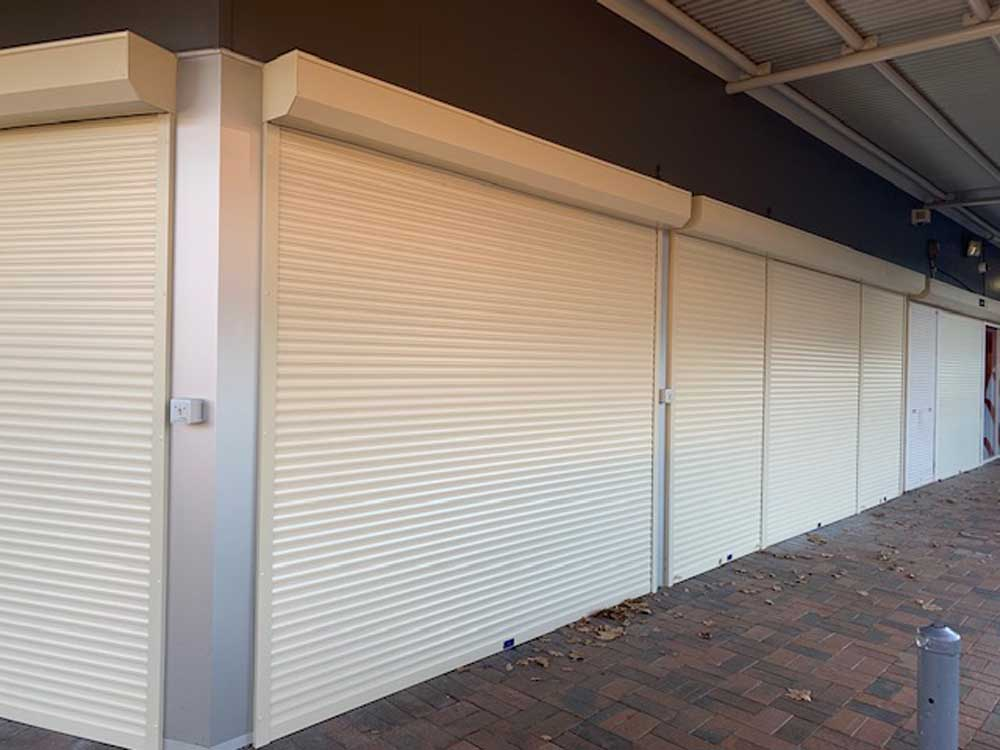 ATDC's premium grade commercial roller shutters were installed at Tahmour