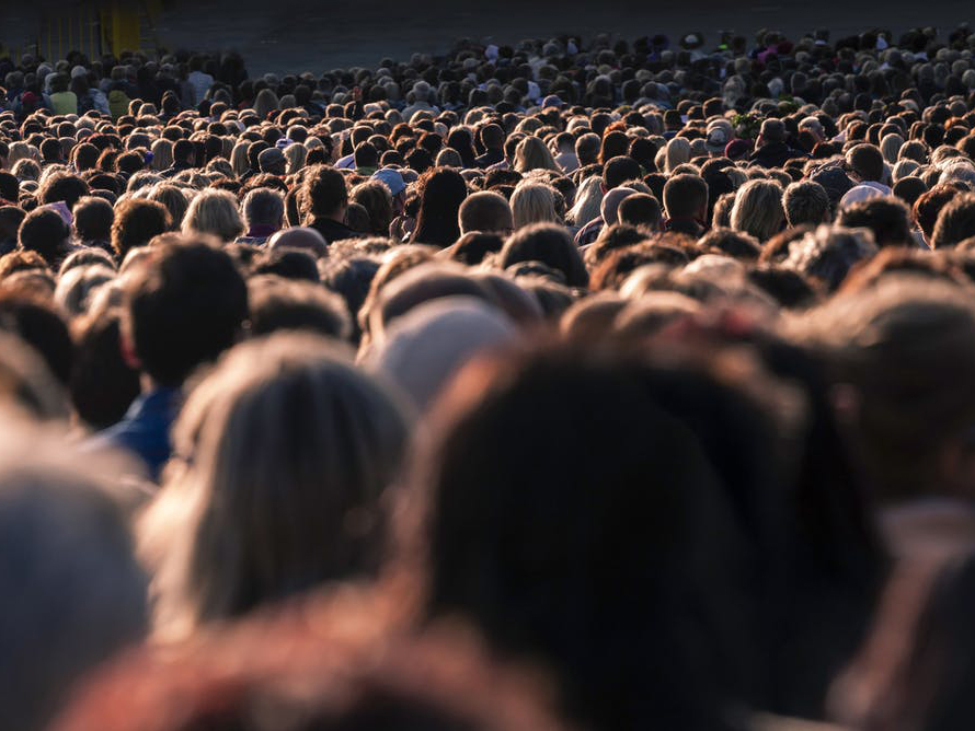 Many are conflicted about whether the population should continue to grow and what the population of the future should look like. from shutterstock.com