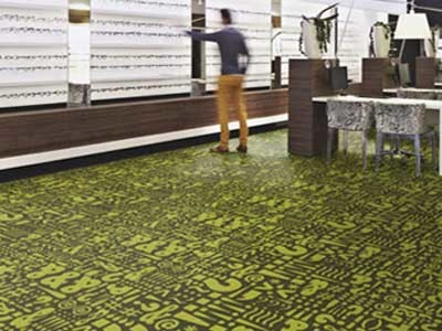 Flotex Vision flooring collection is perfect for hospitality and retail environments