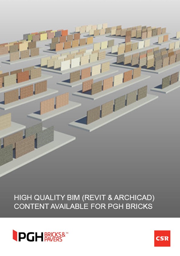 High quality BIM (Revit & ARCHICAD) content available for