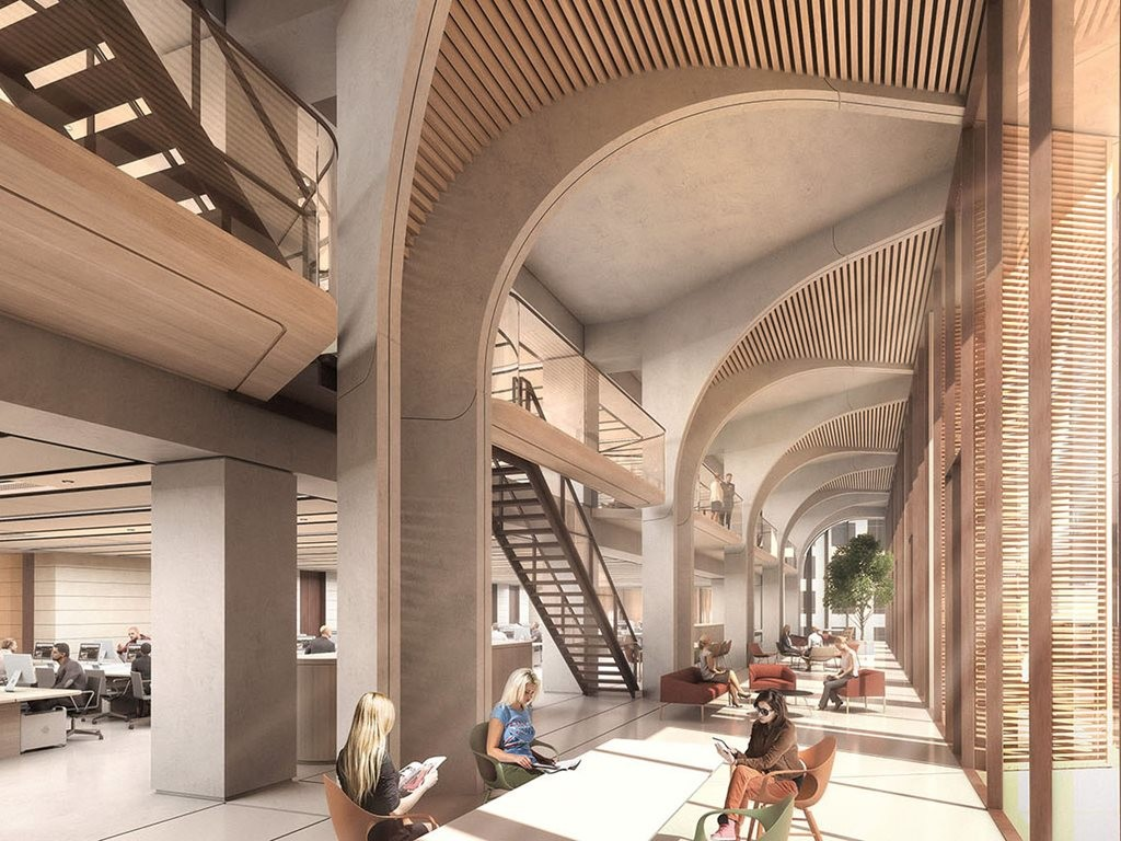 Architecture firm Grimshaw has been selected to design a new commercial workplace tower at 210-220 George Street, Sydney – it's first A-grade commercial office development in Australia. Image: Supplied
