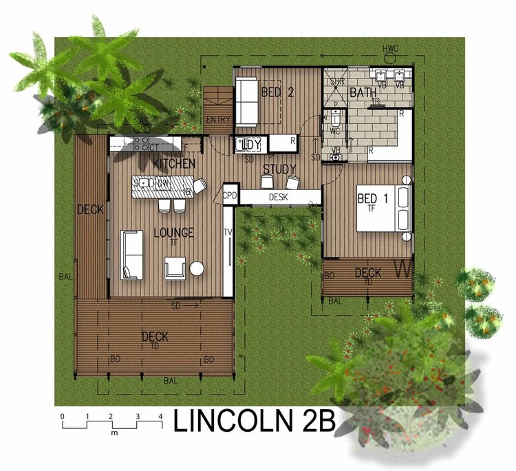 Samford Valley Small House Plan