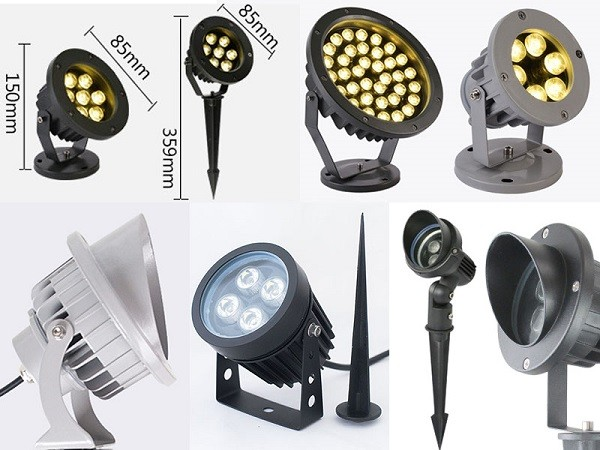 BoscoLighting's new adjustable outdoor spotlights