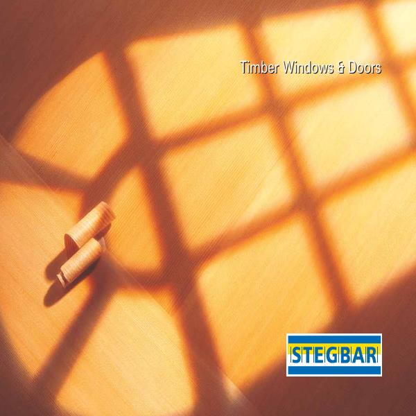 Stegbar Timber Windows and doors