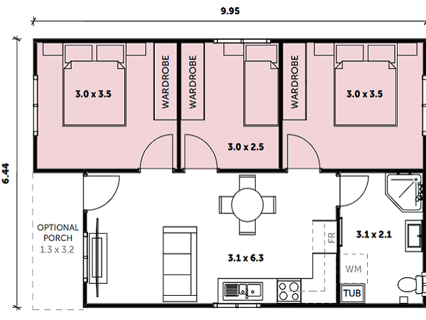 Granny Flat Floor Plans Top 8 Plans Design Ideas For Granny Flats Architecture Design