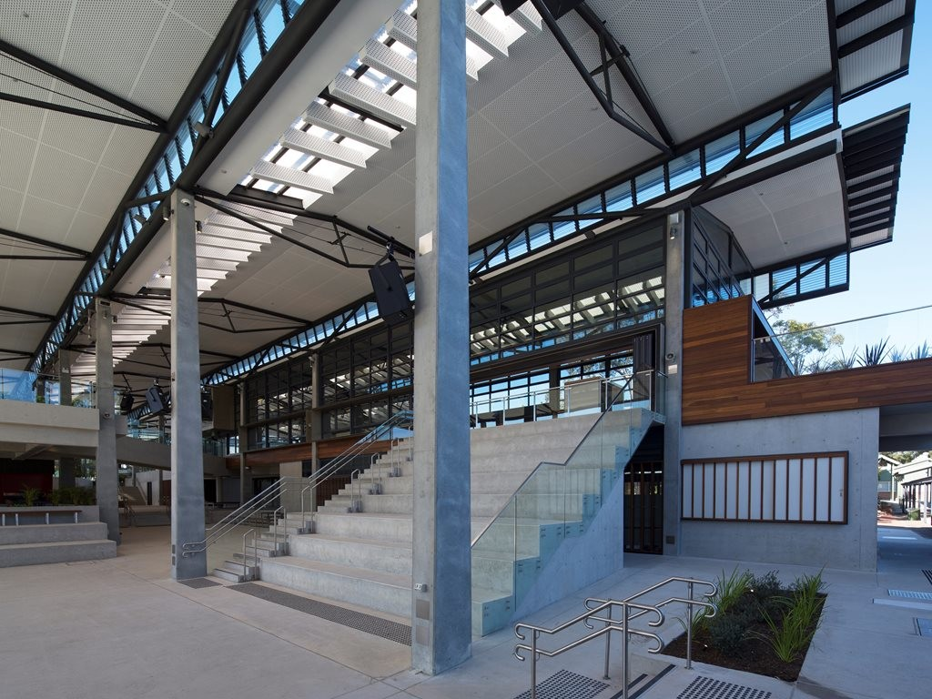 WMK Architecture adopt innovative mixed-mode ventilation strategy at Sydney high school